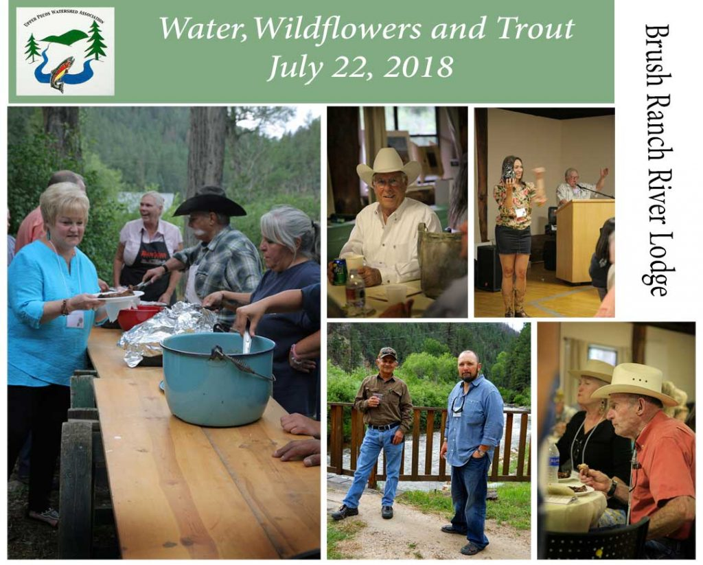 Upper Pecos Watershed Association Annual Fundraiser at Brush Ranch River Lodge