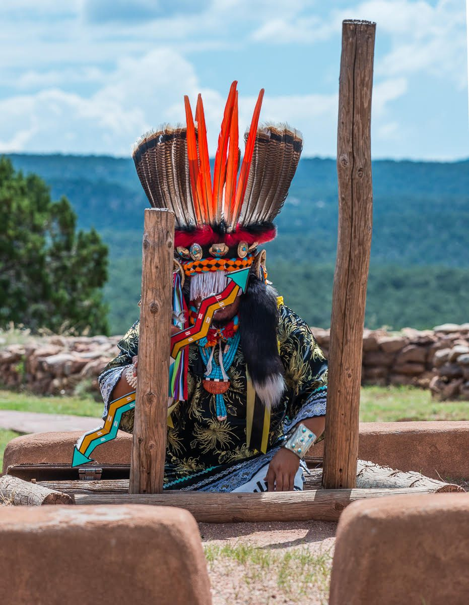 Annual Feast Day Celebration at Pecos Pueblo