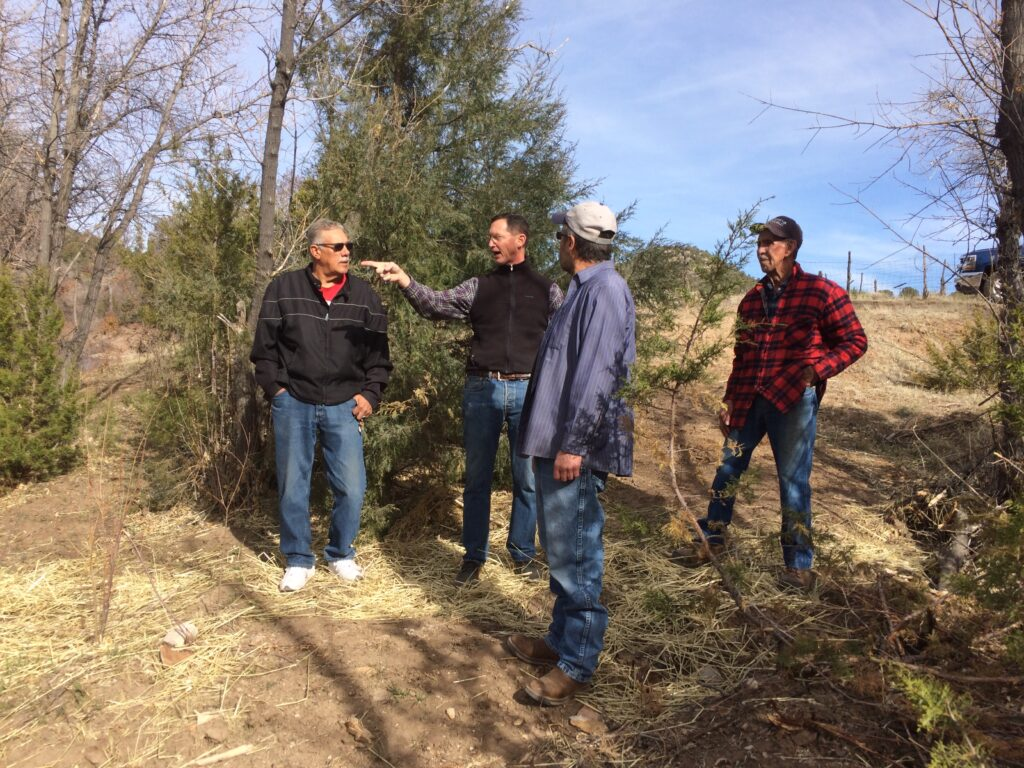 Lower Cow Creek landowners field workshop 2 - mid section