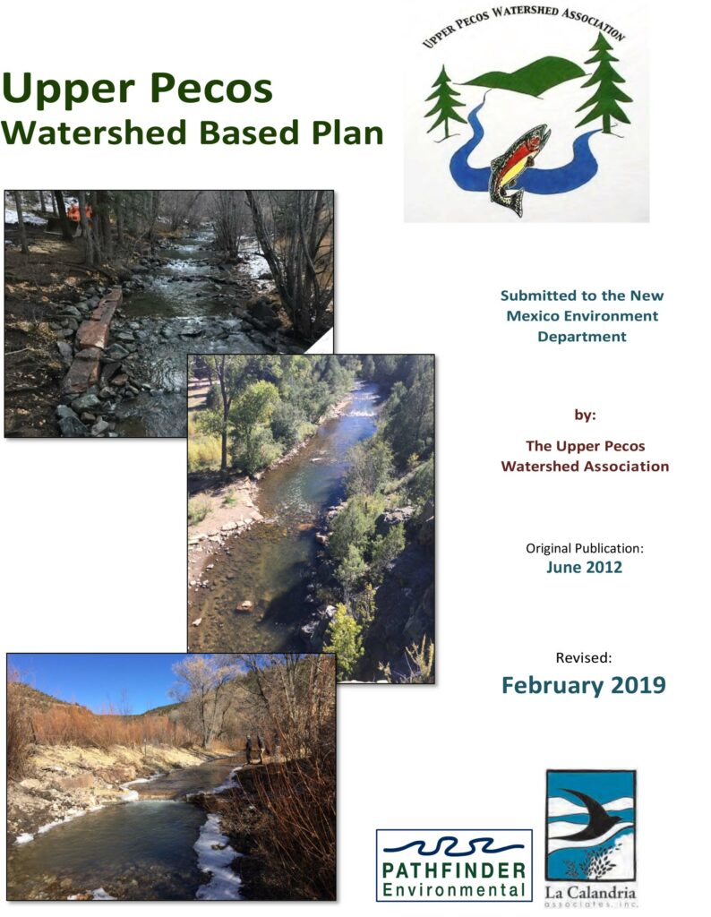 UPWA Watershed Base Plan Update 2019