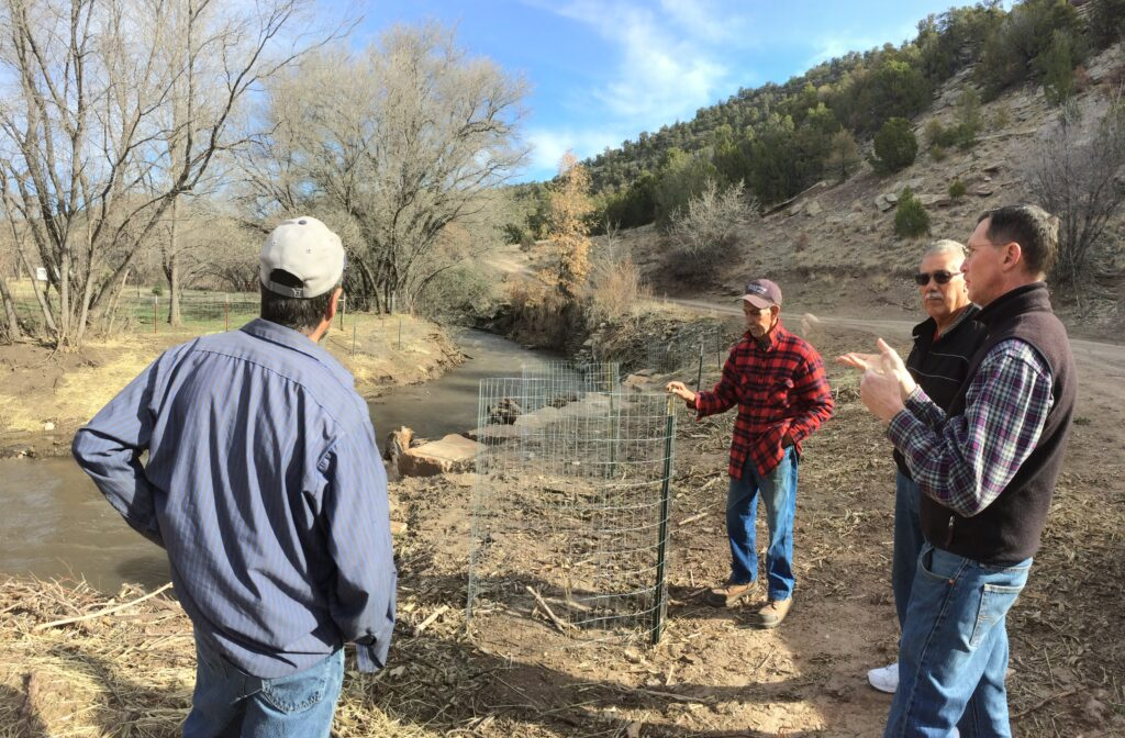 Lower Cow Creek landowners field workshop 2
