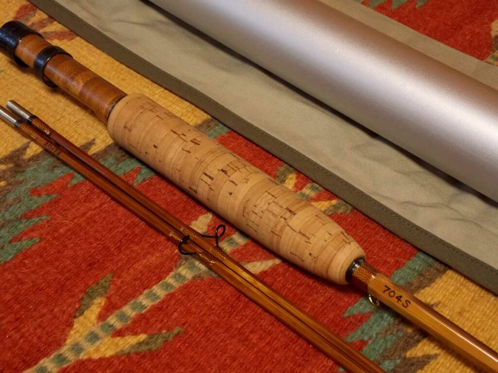 zia rods handcrafted bamboo fly rod